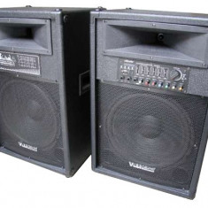 Boxe audio active + Microfon Wireless Vlliodor DS-2022VU - Boxa activa