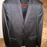 Costum barbatesc elegant - Costum barbati, Marime: 48, Culoare: Negru