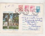 bnk ip Intreg postal 1973 - circulat - Campina - Castelul Iulia Hasdeu