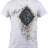 """Tricou personalizat """"Magnifica"""" printeo - Tricou barbati, Marime: S, M, L, XL, XXL, Culoare: Alb, Maneca scurta"""