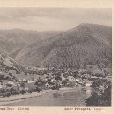 OLTENIA, CAINENI DEFILEUL TURNU ROSU - Carte Postala Oltenia dupa 1918, Necirculata, Printata