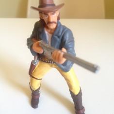 Figurina cowboy cu pusca - 10cm, 4-6 ani, Baiat