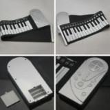 Orga flexibila 49 clape cu claviatura Roll UP