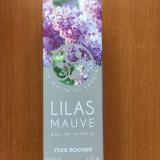 APA DE TOALETA LILIAC VIOLET (LILAS MAUVE) 100 ML Yves Rocher NOU, SIGILAT
