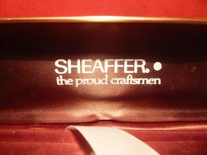Cutie metalica pt, Stilou Sheaffer Craftsmen