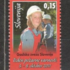Slovenia.2011 Timbre de binefacere-Saptamina pompierilor MS.819 - Timbre straine, Nestampilat