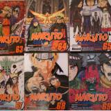 Vand manga Naruto vol. 62-69, 71, 72 limba engleza. - Carte in engleza