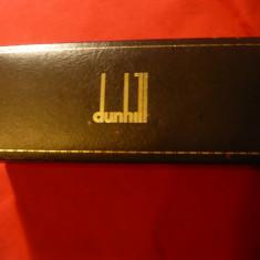 Cutie originala pt. Stilou Dunhill, certificat garantie, L= 17, 8 cm