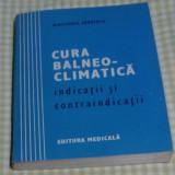 Cura balneo-climatica, Editura Medicala, 1986, 358 pagini - Carte Recuperare medicala