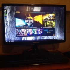 Sistem Gaming i5 / AMD 3GB 3DDR5 + Monitor 21.5 Power +Cont League of legends - Sisteme desktop cu monitor AMD, Intel Core i5