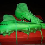 Ghete Fotbal Nike Mercurial, Marime: 41, Culoare: Verde