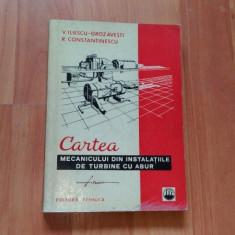 CARTEA MECANICULUI DIN INSTALATIILE DE TURBINE CU ABUR-V.ILIESCU-GROZAVESTI-R.CONSTANTINESCU