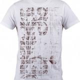 """Tricou personalizat """"Noise Plant"""" printeo - Tricou barbati, Marime: S, M, L, XL, XXL, Culoare: Alb, Maneca scurta"""