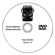 Iveco Stralis AS AT AD Euro 4-5 Service Manual + Schema Electrica - Manual auto