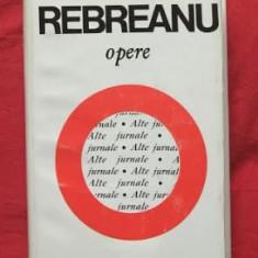 Alte jurnale : 1928-1943 / Liviu Rebreanu OPERE Vol. 18 - Biografie