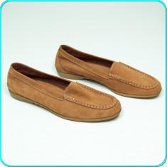DE FIRMA → Pantofi / mocasini DIN PIELE, comozi, ca noi, GABOR → barbati | nr 44 - Pantofi barbat Gabor, Culoare: Maro, Piele naturala, Casual