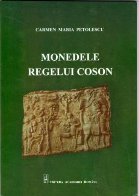 MONEDELE REGELUI COSON (KOSON) carte Ed.Academiei 2011 foto