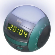 Radio Cu Ceas Alarma Si Lampa Victronic 1232