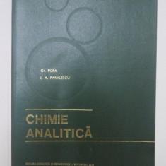 CHIMIE ANALITICA de GR. POPA, I.A. PARALESCU 1977
