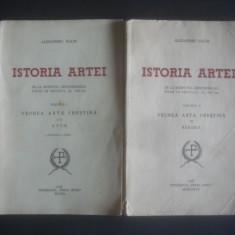 ALEXANDRU NAUM - ISTORIA ARTEI 2 volume {1940} - Carte Istoria artei