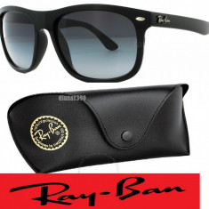 Ochelari Soare Ray Ban 4147 - Ochelari de soare Ray Ban, Unisex, Negru, Plastic, Protectie UV 100%