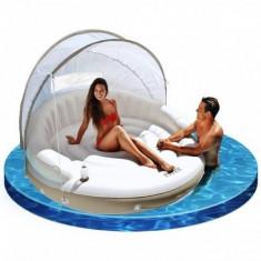 Canapea gonflabila tip insula pentru piscina Intex 58292 - Saltea de apa