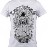 """Tricou personalizat """"Lugubrious"""" printeo - Tricou barbati, Marime: S, M, L, XL, XXL, Culoare: Alb, Maneca scurta"""