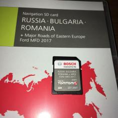 Card FORD Focus C-Max B-Max Kuga Fiesta CARD HARTA NAVIGATIE MFD EU ROMANIA 2017 - Software GPS