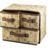 Cutie tip organizator cu 3 sertare