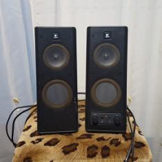 Boxe calculator Logitech X 140 (S-0264B) PC speakers - 5 W - Boxe PC Logitech, Canale : 2.0, 0-40W, Activa