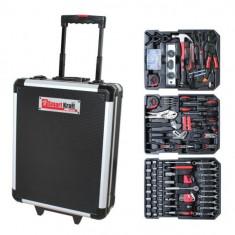 Trusa scule 199 piese cu geanta mobila Smart Kraft SK-0001