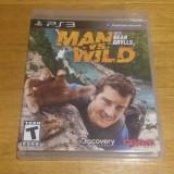 PS3 Man vs. Wild with Bear Grylls - joc original by WADDER - Jocuri PS3 Altele, Actiune, 3+, Single player