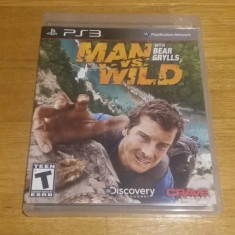 PS3 Man vs. Wild with Bear Grylls - joc original by WADDER - Jocuri PS3, Actiune, 3+, Single player