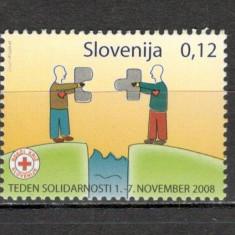 Slovenia.2008 Timbre de binefacere-Crucea Rosie MS.816 - Timbre straine, Nestampilat