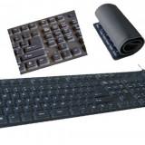 Tastatura flexibila USB Soft-Touch