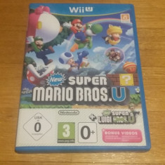 WII U New Super Mario bros. U + New super Luigi U cambo / joc original by WADDER - Jocuri WII U, Arcade, Toate varstele, Multiplayer