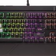 Corsair STRAFE RGB Mechanical Gaming Keyboard, RGB LED, Cherry MX Red (EU) - Tastatura