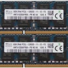 Memorie ram laptop ( sodimm ),  DDR3 8 GB PC3L , HYNIX, SAMSUNG,  garantie, 1600 mhz, Kingston