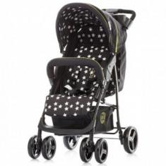 Carucior copii Focus 2 in 1 black Chipolino - Carucior copii 2 in 1