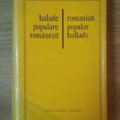 BALADE POPULARE ROMANESTI de LEON D. LEVITCHI ... W.D. SNODGRASS, 1980 - Carte Fabule