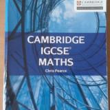 Cambridge IGCSE Maths Student Book - Chris Pearce - Editura Collins - Carte in engleza