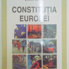 CONSTITUTIA EUROPEI de J.H.H. WEILER , 2009