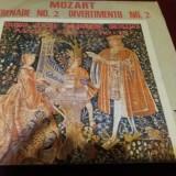 DISC VINIL MOZART - SERENADE NO 2 DIVERTIMENTO - Muzica Clasica
