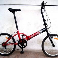 Bicicleta pliabila 20 cu schimbatoare Shimano Best Laux TP20