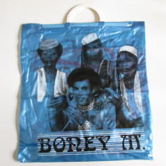 Sacosa noua colectie din plastic Boney M, din anii 80