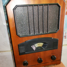 Aparat de radio, vechi, german, stil vintage, perfect functional - Aparat radio