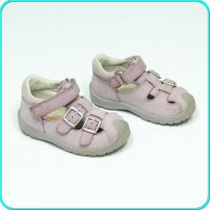 Pantofi de vara / sandale DIN PIELE, usori, aerisiti, SUPERFIT → fete | nr. 20 - Pantofi copii, Culoare: Mov, Piele naturala