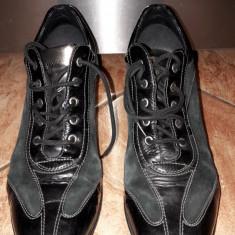 Pantofi GEOX sport - Ghete dama Geox, Culoare: Negru, Marime: 37