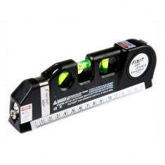 Nivela cu raza laser si ruleta incorporata - Ruleta masura