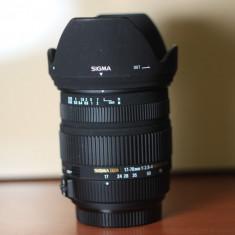Obiectiv foto Sigma 17-70mm f/2.8-4 stabilizare montura Sony Alpha - Obiectiv DSLR